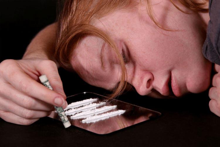 اعراض ادمان الكوكايين